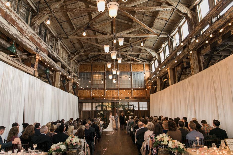 Sodo Park wedding ceremony
