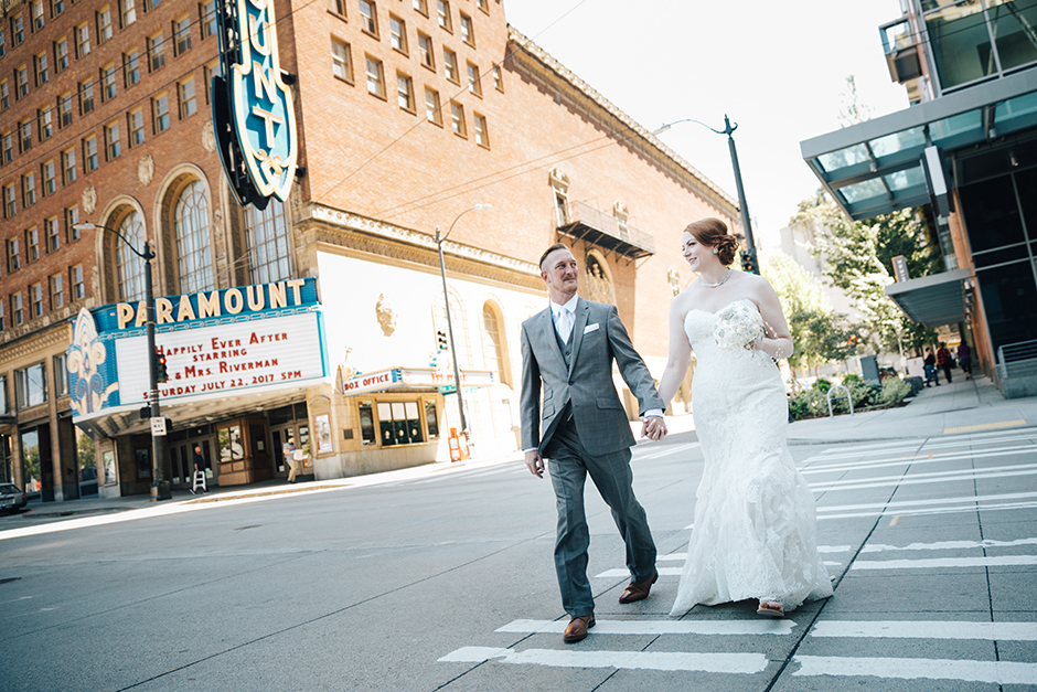 paramount theater wedding by jenny gg