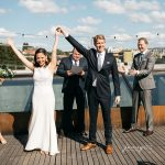 fremont foundry rooftop wedding by jenny gg