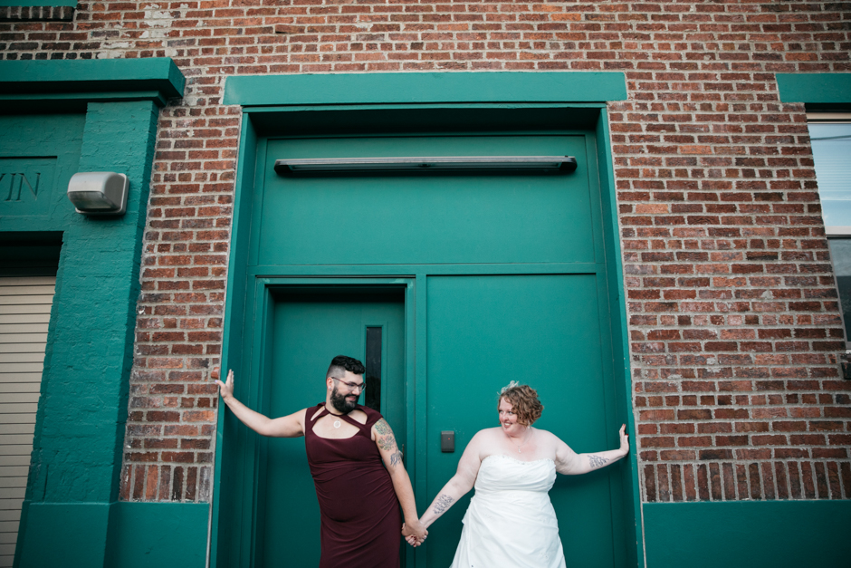 washington hall queer wedding