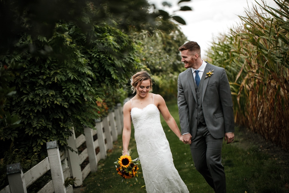 maplehurst farm bride and groom