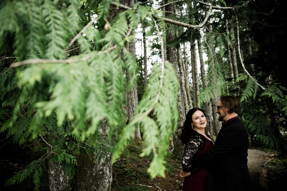 Unique elopement in Seattle