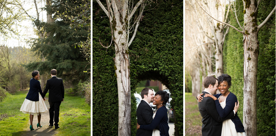 Elopement photography in Seattle