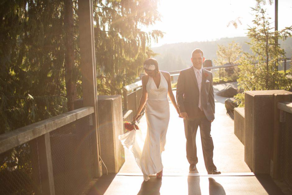 elopement at Salish Lodge