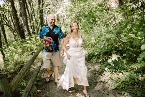 ballard wedding in the woods