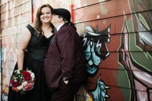 same sex wedding lesbian georgetown seattle wedding