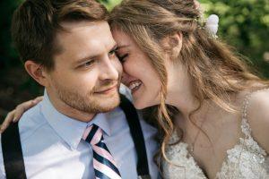 maroni meadows bride and groom